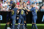 ريال مدريد يتألق ويدك شباك سيلتا فيغو بثلاثية