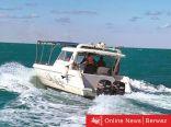 فرق الإطفاء تنفذ 3 أشخاص بعد تسرب المياه إلى قاربهم