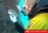 بوزن عشرة أطنان: فريق الغوص الكويتي ينتشل بقايا قوارب من جون الكويت
