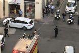 """8 جرحى في انفجار مدينة ليون #فرنسا و ماكرون يصفه بـ"""" الهجوم""""الذي لم يسفر عن وفيات"""