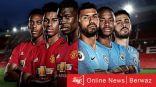 مانشستر يونايتد ومانشستر سيتي ضمن أبرز المباريات العربية والعالمية اليوم السبت