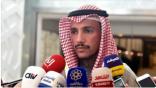 الغانم: الكويت من أكثر الملتزمين بالقضية الفلسطينية وآخر من يطبع مع إسرائيل