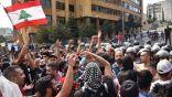 فيديو.. مواطنون لبنانيون ينظفون الشوارع عقب الاحتجاجات