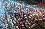 بالفيديو.. الآلاف يشيعون جثامين 12 شهيدًا بحادث معهد الأورام في مصر