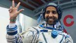 رائد الفضاء الإماراتي هزاع المنصوري ينشر أول صوره من الفضاء