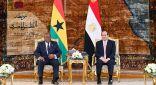 السيسي: حريصون على تحقيق أهداف إفريقيا الاستراتيجية في مجالات السلم والأمن