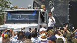 دخول المساعدات الأمريكية إلى فنزويلا رغم تهديدات مادورو
