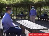 طلاب في إيطاليا يخوضون الامتحانات وسط أشجار الزيتون