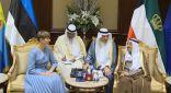 مباحثات رسمية بين سمو الأمير ورئيسة أستونيا