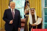 الشيخ ناصر صباح الاحمد يتسلم وسام الاستحقاق العسكري من الرئيس الأمريكي دونالد ترامب