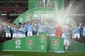 مانشستر سيتي يتوج بلقب كأس الرابطة الإنجليزية المحترفة