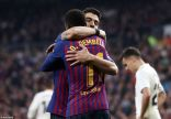 برشلونة يفوز على ريال مدريد ويتأهل إلى نهائي كأس ملك إسبانيا