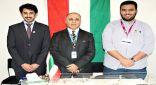 مخترعان كويتيان يهديان الميدالية الفضية بمعرض جنيف لأمير البلاد
