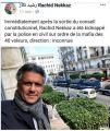 فضيحة …خطف المترشح للرئاسة الجزائرية رشيد نكاز وظهور شخص آخر بنفس الإسم !!