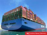 قناة السويس تشهد مرور أكبر سفينة حاويات في العالم