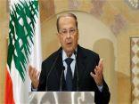 الرئيس اللبناني: سقوط طائرتا إسرائيل عدوان سافر على أراضينا