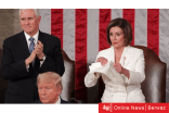 نانسي بيلوسي تكشف عن خلافها مع ترامب بتمزيق نسخة من خطابه حول حال الإتحاد