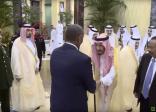 فيديو.. أول ظهور للحارس الشخصي الجديد للعاهل السعودي