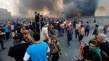 فيديو.. الصحة العراقية تعلن مصرع شخص واحد خلال احتجاجات وسط بغداد