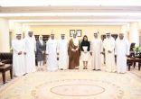 الغانم يجتمع برئيس وأعضاء لجنة شؤون المهنة بجمعية الصحفيين الكويتية
