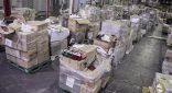 الجمارك تصادر 280 طردا محملة ببضائع مقلدة
