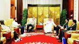 باسل الصباح يصل الصين لحضور الاجتماع الثاني للمنتدى العربي الصيني بمجال الصحة