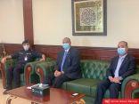 الصليب الأحمر الدولي في زيارة رسمية لقطاع  الإصلاحية وتنفيذ الأحكام للإطلاع على الأوضاع الصحية للنزلاء