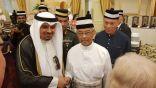سفارتنا لدى ماليزيا تشارك في حفل عيد الفطر بالقصر الملكي