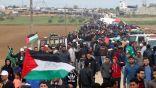مقتل فلسطيني برصاص الاحتلال الإسرائيلي في مسيرات العودة