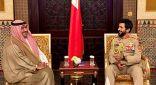 مستشار الأمن الوطني البحريني يؤكد عمق العلاقات الأخوية الراسخة مع الكويت