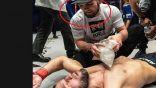 بالفيديو…مقاتل تونسي يهزم صديق خبيب نورمحدوف بالضربة القاضية
