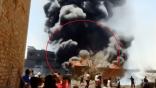 بالفيديو: حريق مهول يجتاج مصنع للكميائيات بمصر