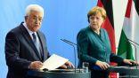 المستشارة الألمانية لعباس: حل الدولتين السبيل الوحيد لتسوية النزاع الشرق أوسطي
