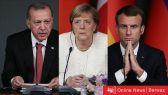 كورونا يجمع زعماء قمة تركيا وفرنسا وألمانيا عبر فيديو كونفرانس