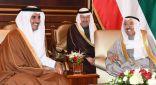 أمير البلاد يستقبل الأمير القطري بمقر إقامته في الولايات المتحدة