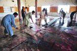 قتلى وجرحى في انفجار قنبلة داخل مسجد في باكستان