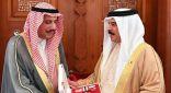 العاهل البحريني: مواقف الكويت معنا مواقف أصيلة وداعمة