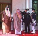سمو الأمير خلال زيارته للداخلية: إذا إنعدم الأمن تتوقف عجلة التنمية وتتعطل جميع مقوماتها