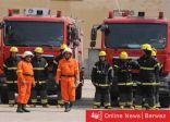 مصر: السيطرة على حريق نشب بمنازل قرية معزولة صحيًا بسبب كورونا