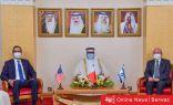 توقيع إتفاقية إقامة علاقات ديبلوماسية بين إسرائيل والبحرين