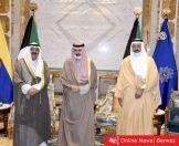 استضافة سمو الأمير للفريق أول أحمد النواف بمناسبة تعيينه بمنصبه الجديد