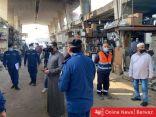 طلال الخالد: قطع الكهرباء وإنذار جميع محلات «سوق الصفافير» لوجود مخالفات جسيمة