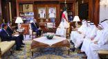 الشيخ صباح الخالد يبحث مع وزير الخارجية الأردني العلاقات المشتركة