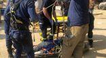 «الإطفاء»: العثور علي جثة عامل عربي سقط في حفرة مشروع جسر قيد الإنشاء