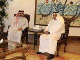 الشيخ مبارك الدعيج يستقبل سفير الكويت لدى كوبا
