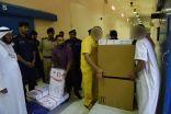 الشيخ خالد الجراح يأمر بتوزيع سلات رمضانية على نزلاء المؤسسات الاصلاحية
