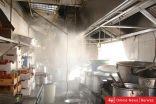 5 مصابين عقب حريق مطعم بالسالمية وإنفجار إسطوانة غاز