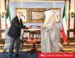 إجتماع مشترك بين الكويت والعراق بقصر سيف والخالد يتسلم رسالة خطية من نظيره