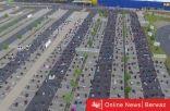 إشادة بشركة ألمانية سمحت للمسلمين بأداء صلاة العيد في موقف السيارات