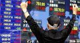 بورصة #طوكيو تتخطى أعلى مؤشراتها في الأربع أشهر الأخيرة
